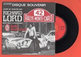 PORT INCLUS - RICHARD LORD - RALLYE MONTE-CARLO - DÉDICACÉ -  1971 - 45 T - SP - Discos De Vinilo