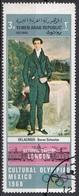 "Yemen 1968 YAR Mi. 1015 ""Baron Schwiter"" Quadro Dipinto E. Delacroix  CTO Paintings Museo Londra - Yemen"