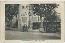 Montpelier-Celleneuve-Place Renaudel (Légèrement Cornée Bas à Gauche Et Haut à Droite,voir Scan) - Montpellier