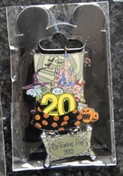DLP Pin Trading Day - Lock, Shock And Barrel 20th Anniversary   Limited Edition 600 Ex. - Disney
