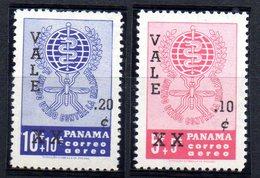 Serie Nº A-245/6 Panama - Panamá