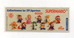 ZAINI - 1995 - Cartina Nintendo - SUPERMARIO - (FDC15690) - Kinder & Diddl