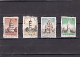 Vietnam Del Norte Nº 238 Al 241 - Vietnam