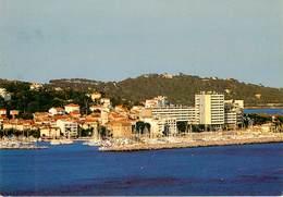 Dép 83 - Ste Maxime - Sainte Maxime - Le Port Devant La Ville Et Les Collines - Moderne Grand Format - état - Sainte-Maxime