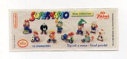 ZAINI - 1999 - Cartina Nintendo - SUPERMARIO - (FDC15691) - Kinder & Diddl