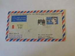 Switzerland First Flight Cover Zurich - Genf- Abidjan - Monrovia 1977 - Svizzera