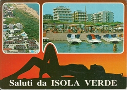Isola Verde Fraz. Di Chioggia (Venezia) Vedute Panoramiche, Panoramics Views, Vues Panoramiques - Chioggia