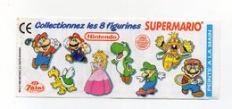 ZAINI - 1995 - Cartina Nintendo - SUPERMARIO - (FDC15692) - Kinder & Diddl