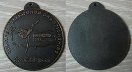 AC - EUROPEAN TAEKWONDO CHAMPIONSHIPS SAMSUN 2002 MEDAL TURKEY - Martial Arts