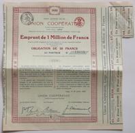 Lot 1920 Union Cooperative (2x). - Non Classés