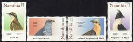 Namibia - 2019 Cuckoos Set  (**) - Cuckoos & Turacos