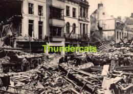 OUDE FOTO 1940 OOSTENDE 18 CM X 13 CM ANCIENNE PHOTO OSTENDE JEAN KAPELLESTRAAT - Orte