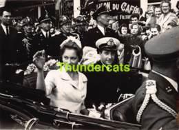 OUDE FOTO 1959 OOSTENDE 18 CM X 13 CM ANCIENNE PHOTO OSTENDE PRINS ALBERT PRINCES PAOLA PHOTO MICHAEL - Orte