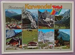 KARWENDEL / TIROL - Wanderparadies - Multiview - Vg A2 - Altri