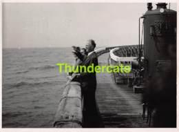 OUDE FOTO 1953 OOSTENDE 18 CM X 13 CM ANCIENNE PHOTO OSTENDE LEOPOLD III BOUDEWIJN VICTOR BILLET - Orte