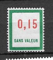FRANCE FICTIF N°F142**  Mnh   Sans Charnière - Phantomausgaben