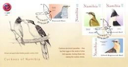 Namibia - 2019 Cuckoos FDC - Cuckoos & Turacos