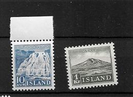 1935 MNH Iceland Mi 181-2 - 1918-1944 Amministrazione Autonoma
