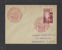 FRANCE.  YT FDC   N° 1090  Oblitération 1er Jour  8-12-1956 - FDC