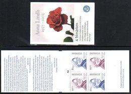 SWEDEN 2003 Anna Lind Booklet MNH / **.  Michel MH296 - Neufs