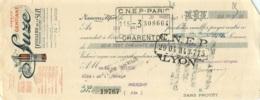 LETTRE DE CHANGE SUZE DISTILLERIE DE LA SUZE 1931 - 1900 – 1949