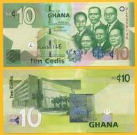 Ghana 10 Cedis P-39 2017 UNC Banknote - Ghana