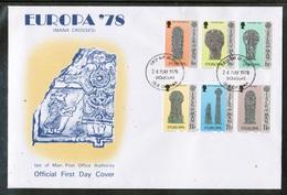 CEPT 1978 IM MI 122-27 ISLE OF MAN FDC - 1978