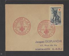 FRANCE.  YT FDC   N° 1049  Oblitération 1er Jour  17-12-1955 - FDC