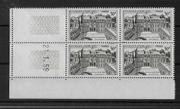 FRANCE - ELYSEE 1959 - YVERT N° 1192 En BLOC De 4 COIN DATE ** MNH  - COTE = 18.2 EUR. - 1950-1959