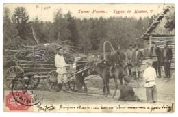 Carte Postale Ancienne Russie - Types De Russie 27 - Russie