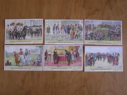 LIEBIG Léopold 1er Roi De Belgique Série De 6 Chromos Trading Cards Chromo - Liebig