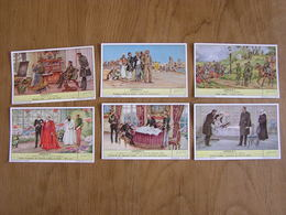LIEBIG Léopold 2 Roi De Belgique Série De 6 Chromos Trading Cards Chromo - Liebig