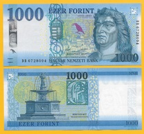 Hungary 1000 Forint P-new 2017 UNC Banknote - Ungheria