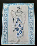 COMOEDIA ILLUSTRE MAI 1912 BAKST IDA RUBINSTEIN SARAH BERNHARDT CHAPEAU LUCIENNE IDA MARGUERITE HAT HATS MODE FASHION - Libri, Riviste, Fumetti