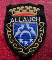 ALLAUCH Bouches Du Rhône 13- Écusson Blason Tissu / Feutrine Brodé - Écussons - Blasons Crest Coat Of Arms - Blazoenen (textiel)