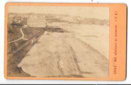 PHOTO ORIGINALE  XIX°  CDV...   VUE GENERALE DE BIARRITZ...  (J.A)... VOIR SCAN... TBE. - Anciennes (Av. 1900)