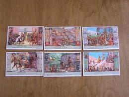 LIEBIG L' Empire Des Incas Civilisations Amérique Du Sud Pérou Série De 6 Chromos Trading Cards Chromo - Liebig