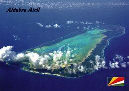 1 AK Aldabra Atoll / Seychellen * Luftbildaufnahme Des Größten Atoll Im Indischen Ozean - Seit 1982 UNESCO Weltnaturerbe - Seychellen