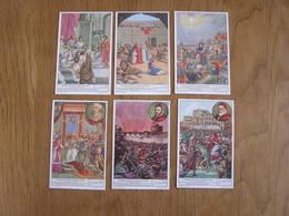 LIEBIG L' Année Sainte Et Ses Origines 7 à 12 Histoire Série De 6 Chromos Trading Cards Chromo - Liebig