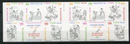13081 SUISSE  C1603** Bicentenaire De La Naissance De Rodolphe Töpffer (1799-1846)   1999  TTB - Carnets