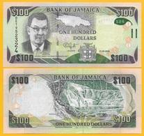 Jamaica 100 Dollars P-95 2018 UNC Banknote - Jamaica