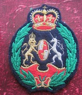 Armoiries Royales Du Royaume-Uni UK-Royal Arms Of The United Kingdom Écussons - Blasons Crest Coat Of Arms - Patches