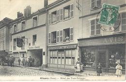CPA Gisors Hôtel Des Trois Poissons - Gisors