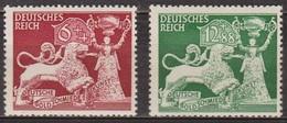 Orfèvrerie - ALLEMAGNE - DEUTSCHES REICH - N° 740-741 ** - 1942 - Allemagne