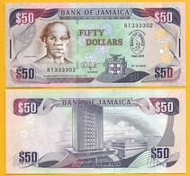 Jamaica 50 Dollars P-88 2010 Commemorative UNC Banknote - Jamaica