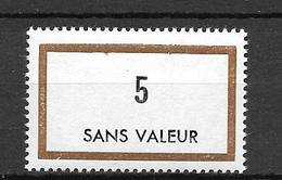 FRANCE FICTIF N°F169**  Mnh   Sans Charnière - Phantomausgaben