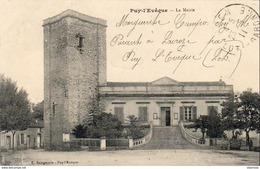 D46  PUY L'EVEQUE  La Mairie   ..... - Other Municipalities