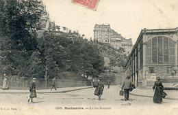 75  PARIS 18e AR   MONTMARTRE  LA RUE RONSARD - Arrondissement: 18