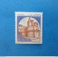 1983 ITALIA FRANCOBOLLO NUOVO STAMP NEW MNH** CASTELLI D'ITALIA CASTELLO CALDORESCO 1400 LIRE - - 1981-90:  Nuovi