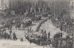 Evènements - Explosion Navire Cuirassé Iéna - Militaria - Funérailles Marins - Cercueils - Catastrophes